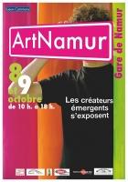 Art Namur 2ème édition / Phase B, magazine Aspëkt / Les 8 et 9 octobre 2011 / Gare de Namur, Belgique